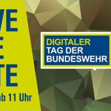SAVE THE DATE: Der Tag der Bundeswehr LIVE 12. Juni um 11 Uhr. https://www.youtube.com/watch?v=jiWhD27DaGA