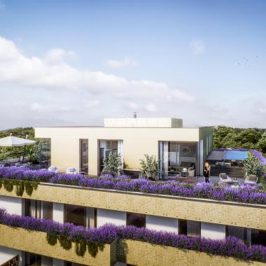 Penthouse im Gartenpark Korneuburg