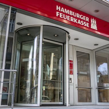 Die Hamburger Feuerkasse am Standort Hamburg