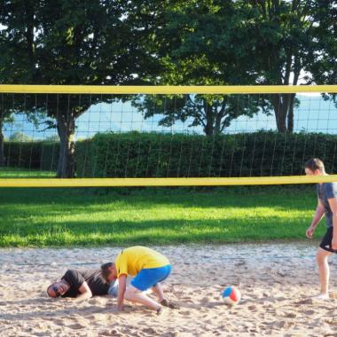 Unsere Volleyball Mannschaft KO. #amscaneurope #beach #summer #sun #volleyball #team