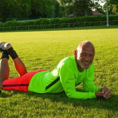 Schön, wenn der Torwart sich entspannen kann. #amscansoccerteam #power #football #tournament #happy