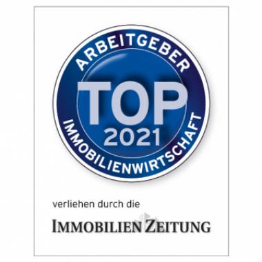 IZ Top Arbeitgeber der Immobilienwirtschaft 2021