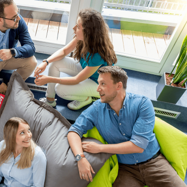 CCP Software GmbH   Mitarbeiter im Sozialraum