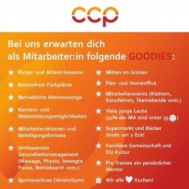CCP Software GmbH   Mitarbeiter Benefits