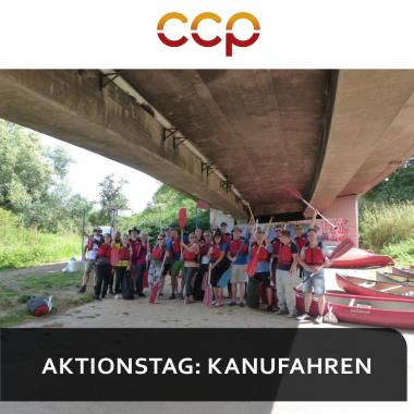 CCP Software GmbH   Aktionstag Kanufahren