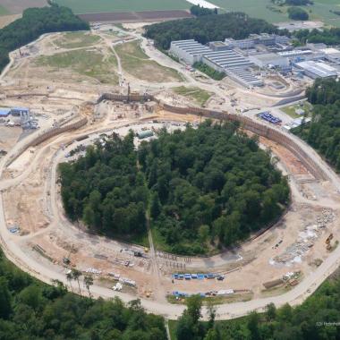 FAIR-Teilchenbeschleuniger in Darmstadt mit Dyckerhoff Zement