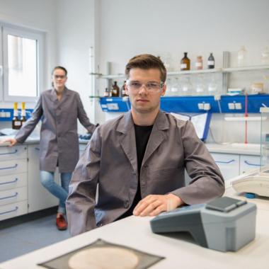 Labor im Werk Göllheim