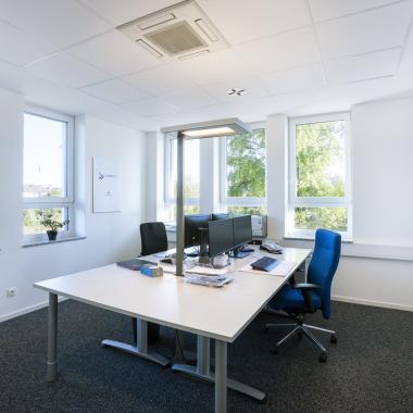 Ein typisches Büro