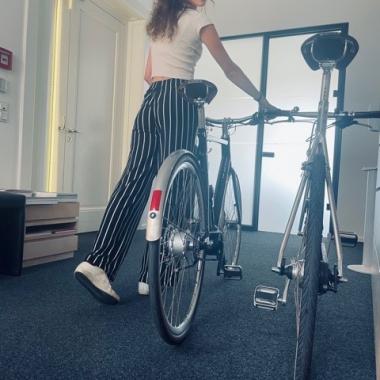 Klient:innentermin? Mit unseren Fahrrädern kein Problem