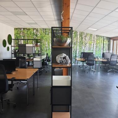 Das neu gestaltete Office bietet viel Platz zur freien Entfaltung für unsere Peers.