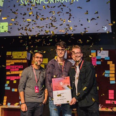 Mach' mit bei Hackathons!