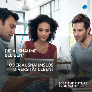 Mehr als 50 Länder, 120 Nationalitäten und 100 Sprachen: unsere Unternehmenskultur ist geprägt von einem Höchstmaß an Vielfalt. Diversität sorgt in unserem Unternehmen für Inspiration und ...