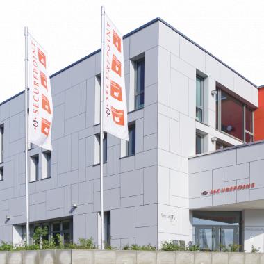 Das Securepoint-Gebäude in Lüneburg