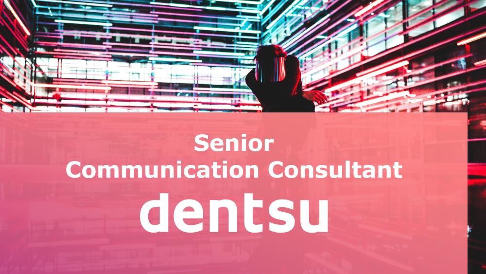 Senior Communication Consultant