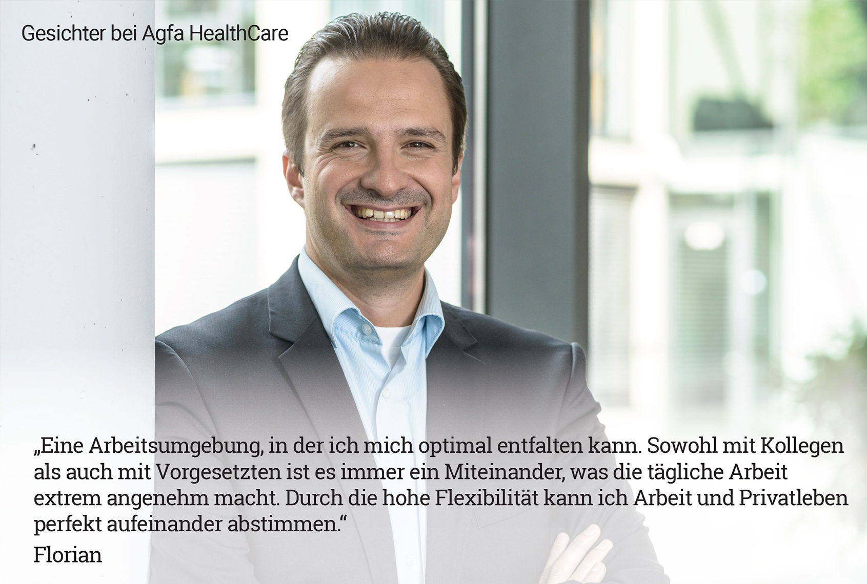 Florian S., Projektmanager Healthcare IT
