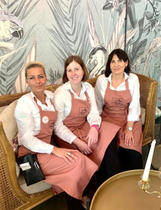 Gastronomische Leiterin Café