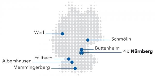 HOT-Standortkarte