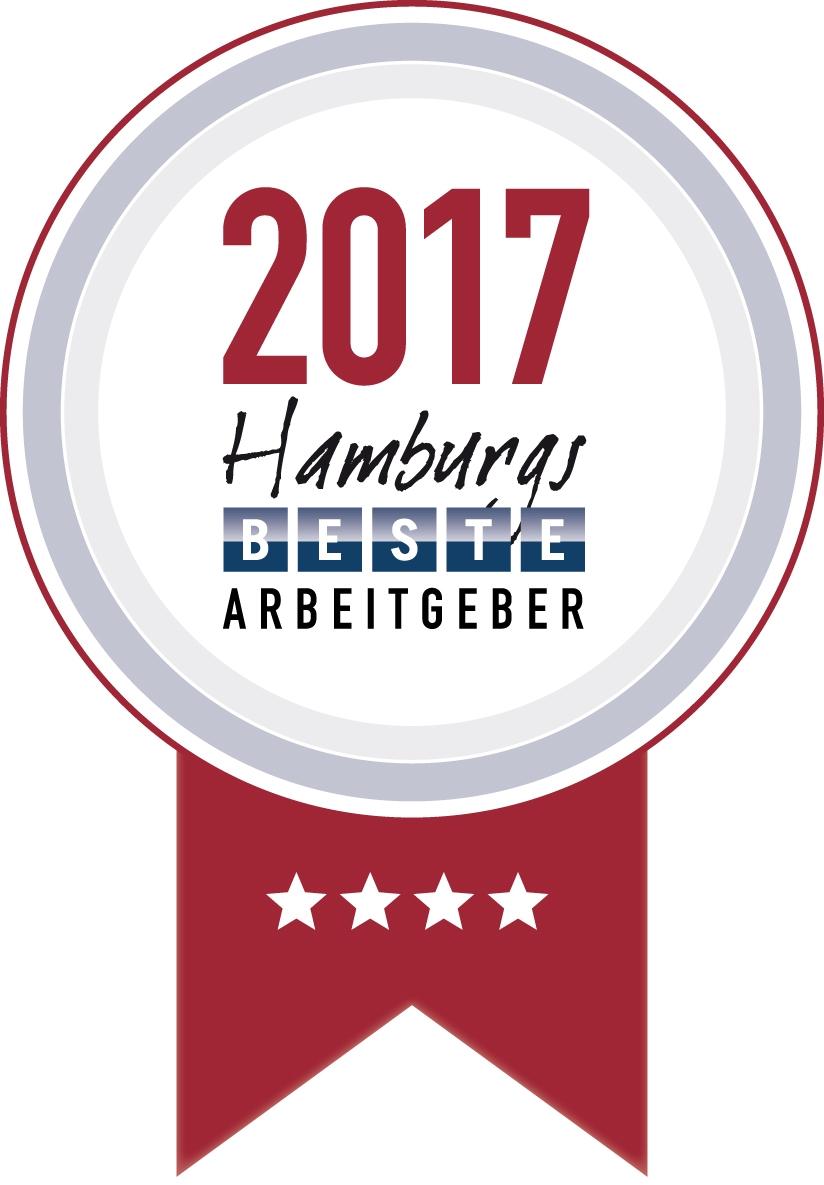 Hamburgs beste Arbeitgeber 2017