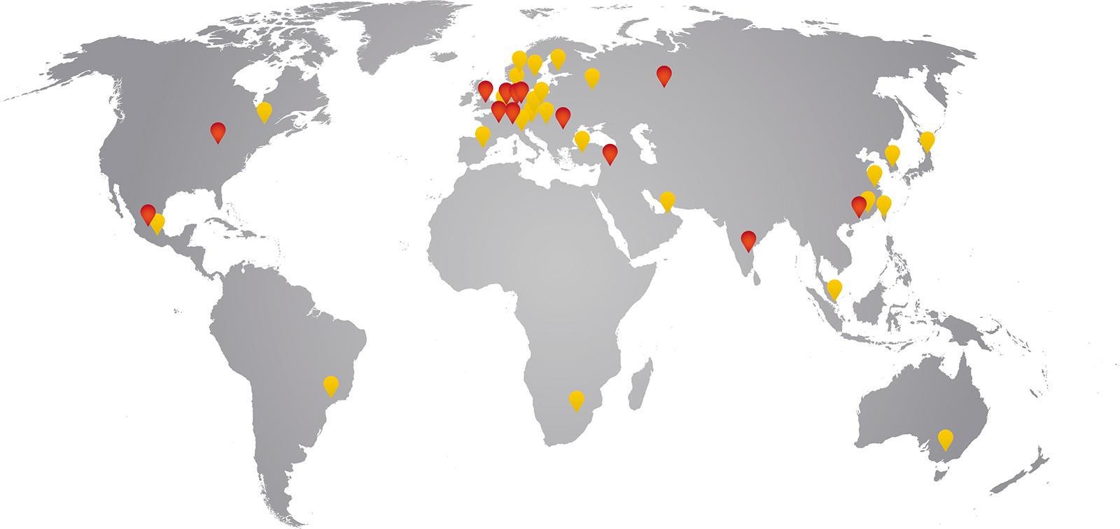 HARTING weltweit