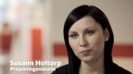 Susann Holtorp, Projektingenieurin bei der Deutschen Bahn