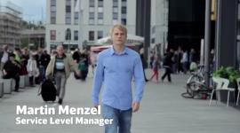 Martin Menzel, Service Level Manager bei der Deutschen Bahn