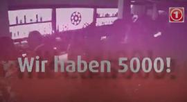Wir sind 5.000 buwler