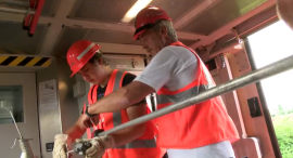 Azubi zum Elektroniker für Betriebstechnik bei der Deutschen Bahn (Sergej Fraas)