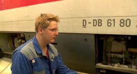 Azubi zum Elektroniker für Betriebstechnik bei der Deutschen Bahn (Kevin Nardmann)