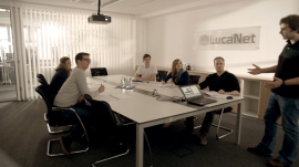 Arbeiten bei LucaNet AG
