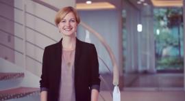 Mareen Walus kümmert sich als CSR-Managerin um die Unterstützung von gemeinnützigen Projekten.
