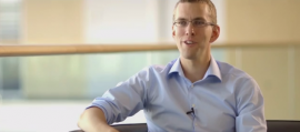 Frequentis Karriere-Interview mit Thomas, Projektleiter