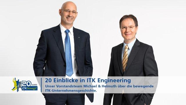 Einblicke in ITK Engineering - unser Vorstandsteam Michael und Helmuth
