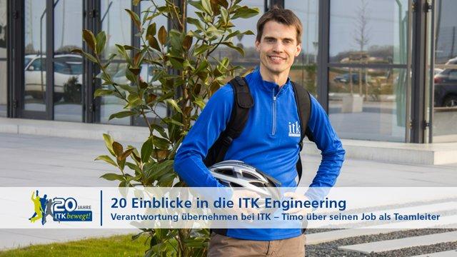 Verantwortung übernehmen bei ITK – Timo über seinen Job als Teamleiter