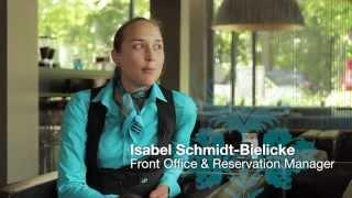 Was liebt Isabel an Ihrem Job und warum hat sie sich bei Motel One beworben? Welche ...