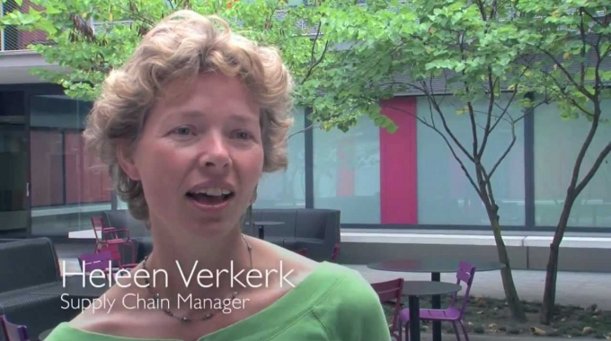 Heleen Verkerk, Supply chain manager