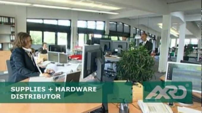 Imagefilm der Firma AXRO auf deutsch