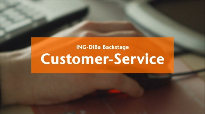 ING-DiBa Backstage: Customer Service