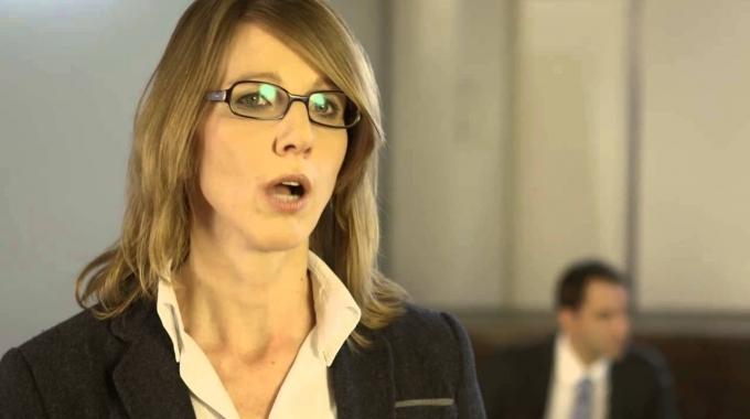 Key Account Managerin Karin zur Frauenförderung bei der Allianz Suisse