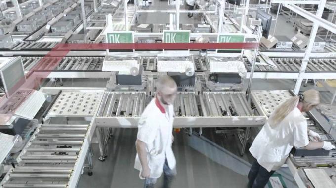 Ein Blick hinter die Kulissen von Fujitsu im Augsburger Werk