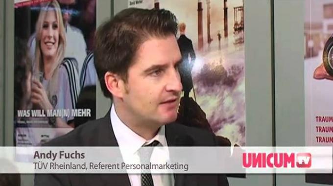 Interview UNICUM Andy Fuchs - TÜV Rheinland AG