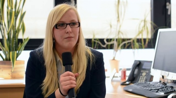 Kerstin Jedwabny - Auszubildende