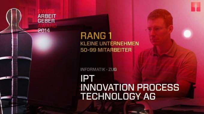 Rang 1, Kleine Unternehmen, Swiss Arbeitgeber Award 2014