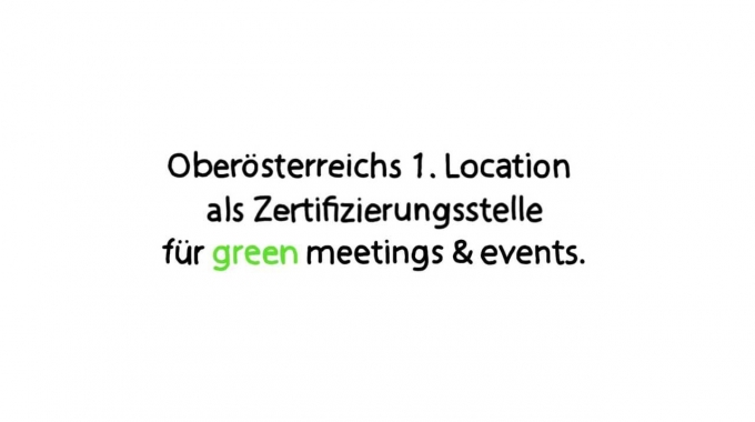 Green Meeting & Events im DESIGN CENTER LINZ
