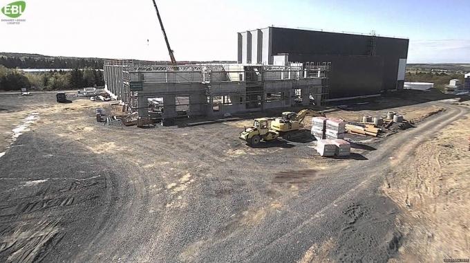 Construction of the Logistics Innovation Center: EBL - Ehrhardt + BOMAG Logistics