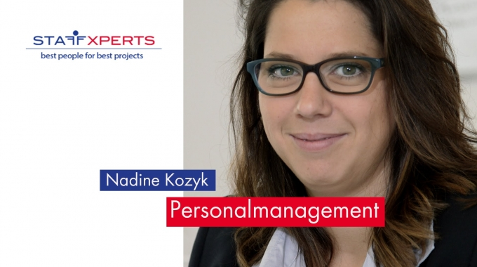 Mitarbeiterstory Nadine Kozyk von der Staffxperts GmbH