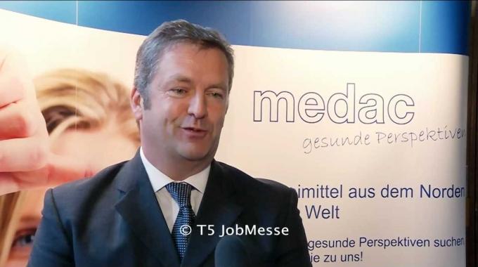 Interview mit Heiner Will auf der TS JobMesse