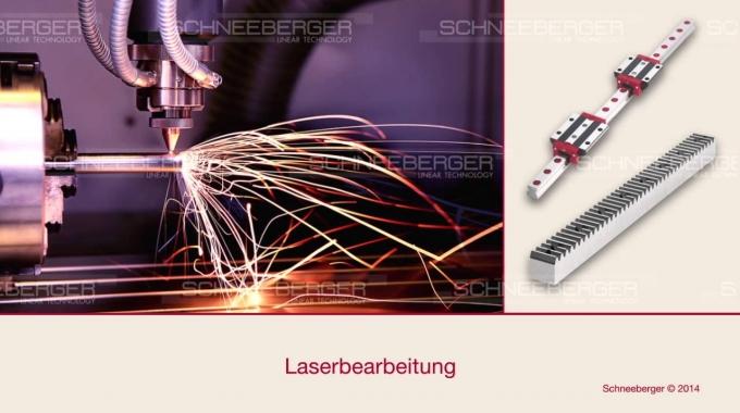 SCHNEEBERGER Customized bearings and gear racks German