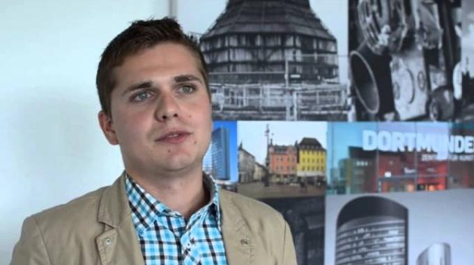 Ausbildung bei der TK: Interview mit André (Auszubildender zum Kaufmann im Gesundheitswesen)