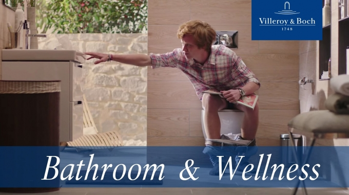 A day in a life of a toilet - new commercial | Villeroy & Boch