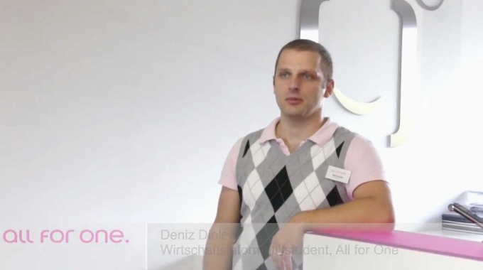 SAP Karriere -- bei All for One studieren (28.10.2011)